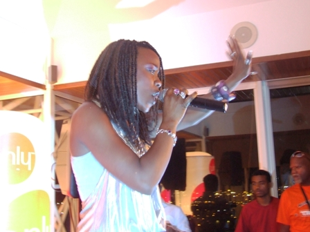 Perle Lama en Martinique