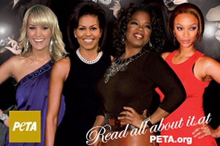 Michelle Obama photo for PETA