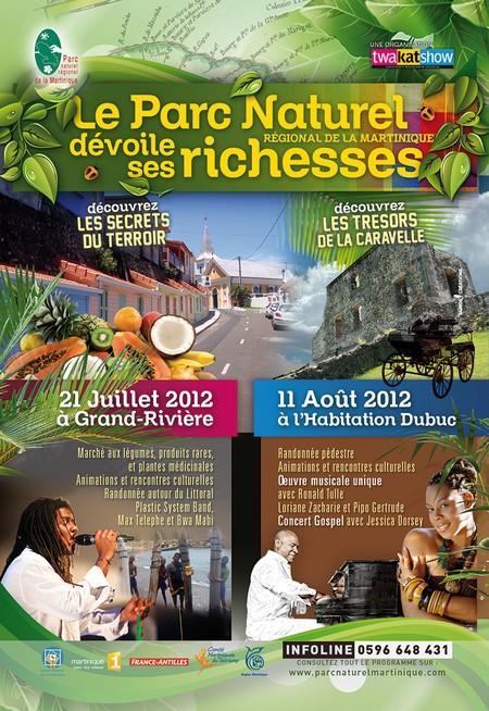 Parc Naturel Régional Martinique (PNRM) les Vacances