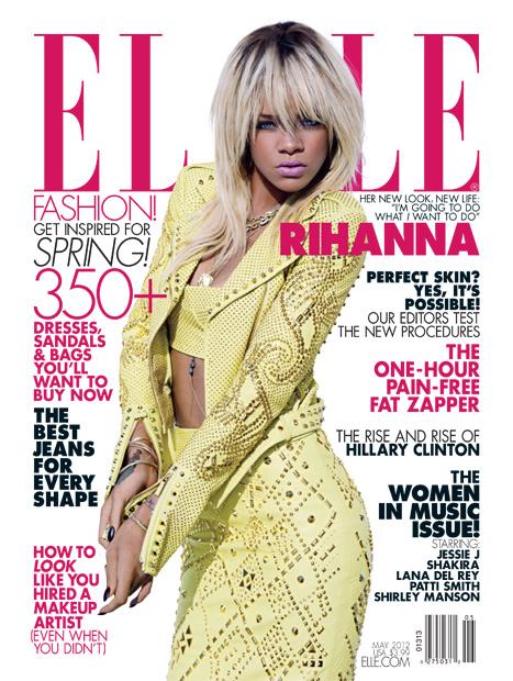 Rihanna Blonde Elle Versche