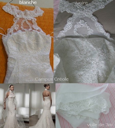 Robe de Mariée bustier Evanescence (2011)