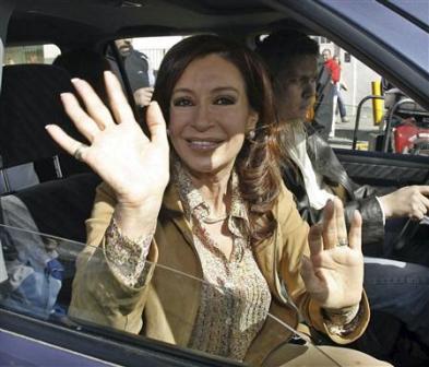 Presidente Christina Fernandez