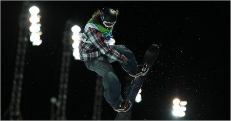 ShaunWhite médaille d'or à Vancouver