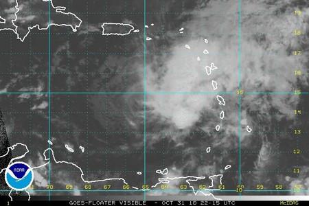 Ouragan Tomas (Antilles)