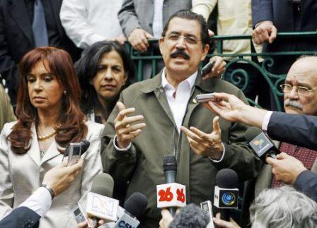 Manuel Zelaya est au Nicaragua