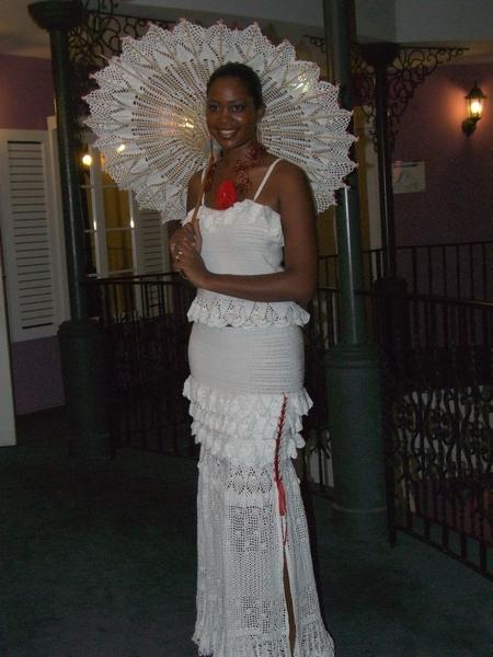 Défilé de mode Robe de Mariée CROCHET