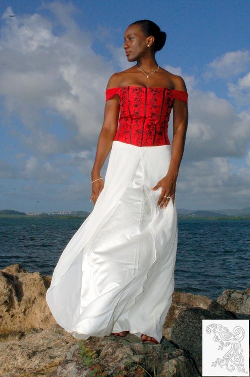 Robe Mariée Martinique créations