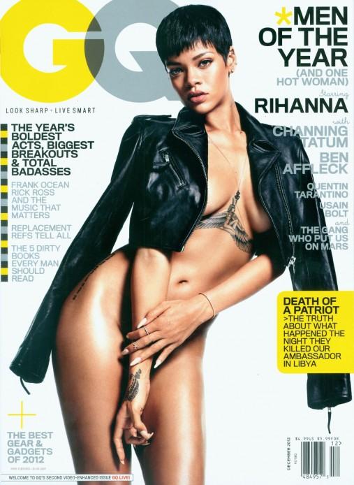 Rihanna nue 2012
