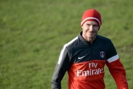 PSG-OM David Beckham au PSG