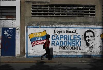 Capriles présidentielle Venezuela