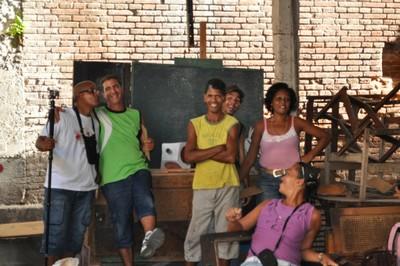 Equipe Artistes Santiago de Cuba et RSR