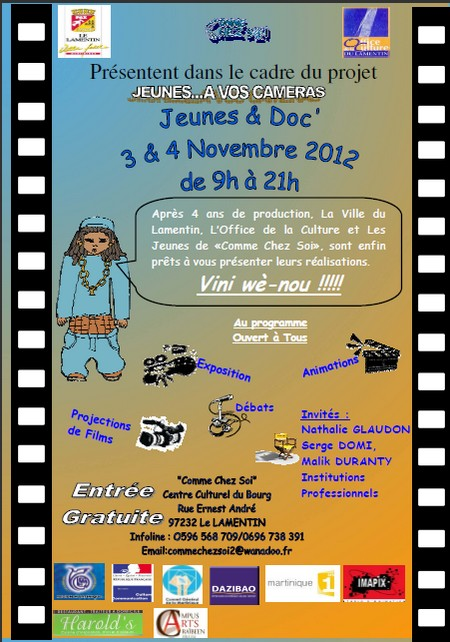 Cinéma Audiovisuel de Martinique Jeunes et Doc'