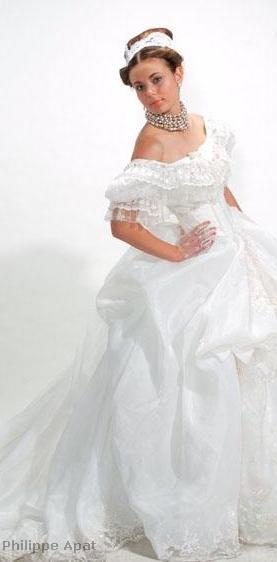 Mariage Robe Leona Creoleness prête