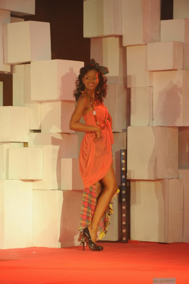 Miss Guadeloupe Cynthia Tinedor (Miss France Pageant)