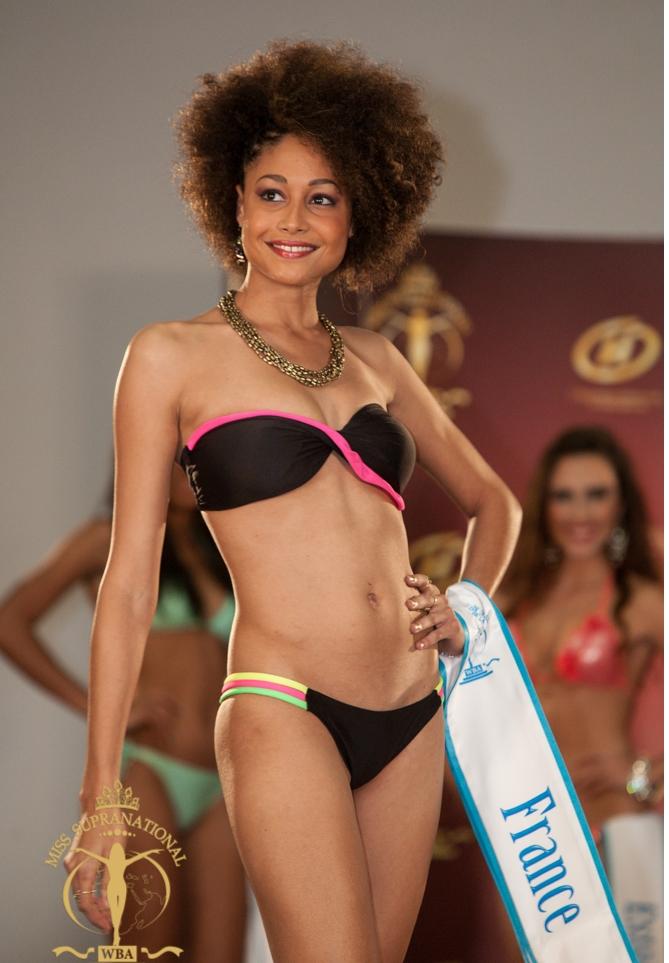 Camille René à Miss Supranational 2013