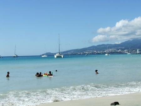 Forte Houle en Martinique avec Sandy