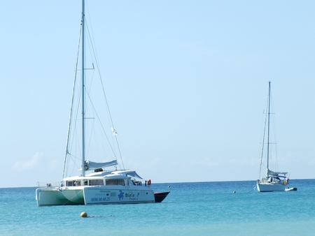 Plaisanciers en Martinique