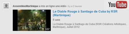 YouTube Diable Rouge Santiago de Cuba