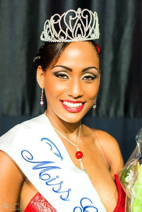 Morgane Theresine Miss Guadeloupe 2015