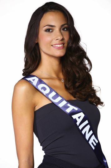 Miss France 2015  candidate Aquitaine