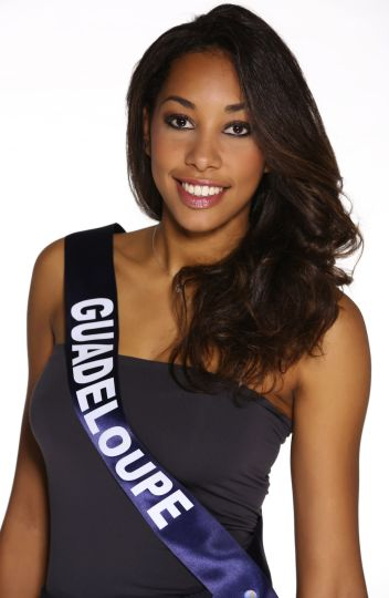 Miss France 2015 candidate Guadeloupe