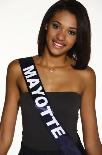 Miss France 2015 candidate Mayotte